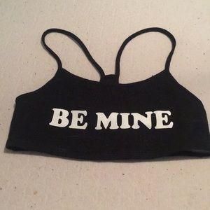 Be mine top